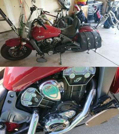 2015 Indian Scout Red for sale craigslist photo