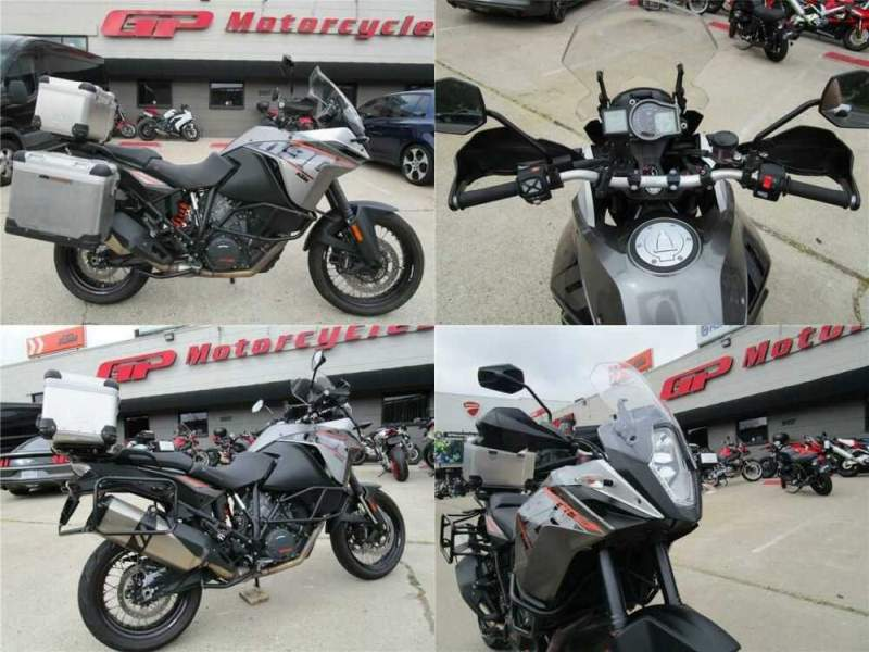 2015 KTM 1190 Adventure Gray for sale craigslist