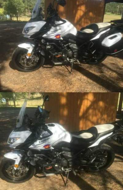 2015 Kawasaki Versys KLE650 LT ABS White for sale