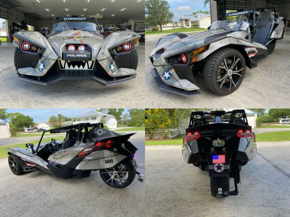 2015 Polaris Slingshot Gray for sale craigslist photo