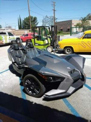 2015 Polaris Slingshot Titanium Grey for sale craigslist photo