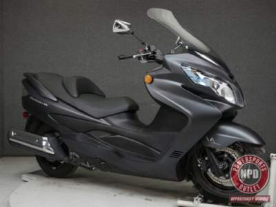 2015 Suzuki AN400 BURGMAN 400 W/ABS MATTE GRAY for sale