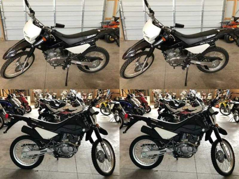 2015 Suzuki DR200S Black for sale craigslist photo