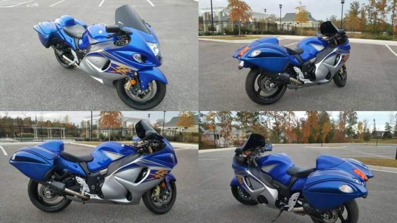 2015 Suzuki Hayabusa Blue for sale craigslist photo