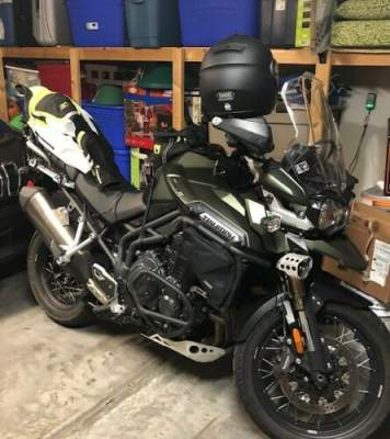 2015 Triumph 2015 Triumph 1200 Tiger Explorer Green for sale
