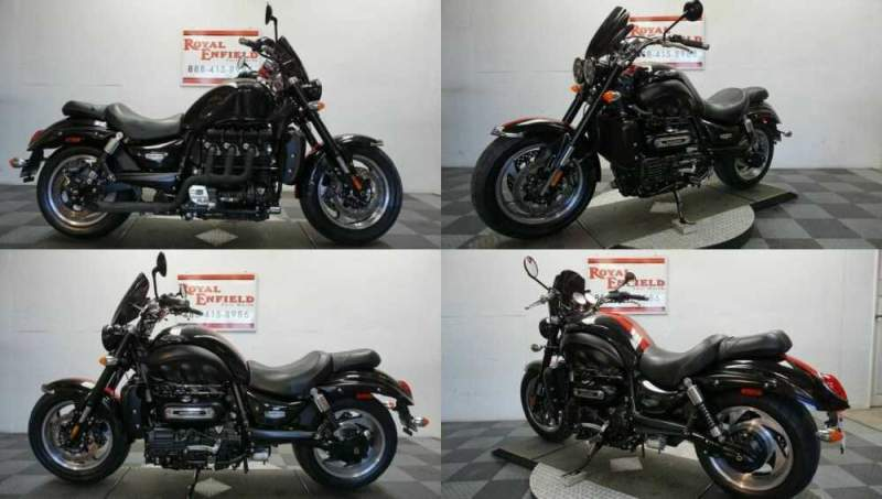 2015 Triumph Rocket III NICE UPGRADES!!! Black for sale craigslist photo
