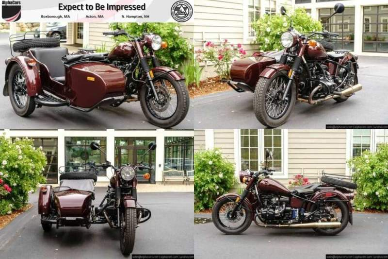 2015 Ural M70 Burgundy Custom Burgundy for sale