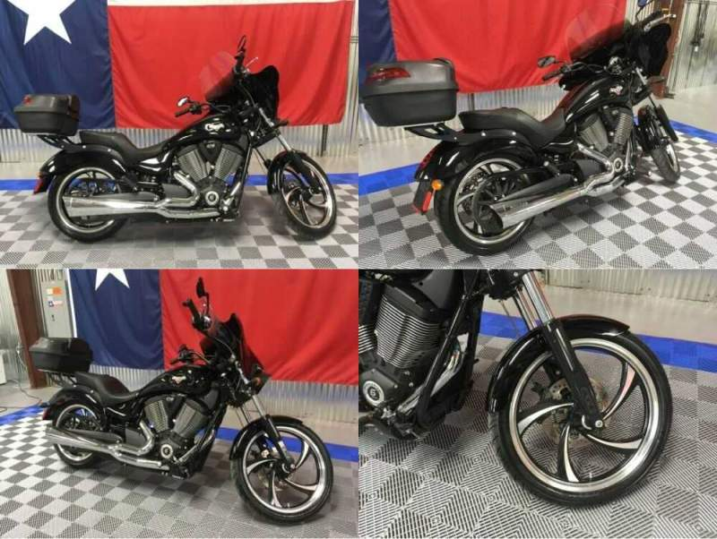 2015 Victory Vegas 8-ball Black for sale craigslist photo