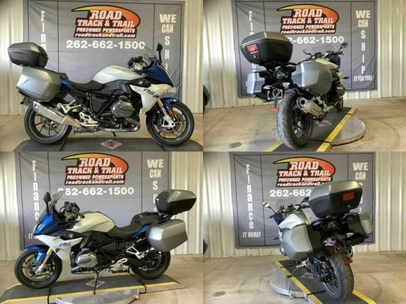 2016 BMW R 1200 RS Premium Lupin Blue / Light Grey Metallic Blue for sale