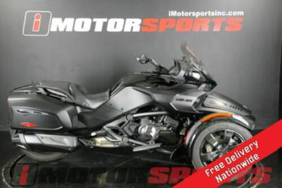 2016 Can-Am Spyder F3 Limited Special Series 6-Speed Semi-Auto Black for sale