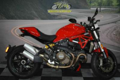 2016 Ducati Monster 821 1200 Red for sale craigslist photo
