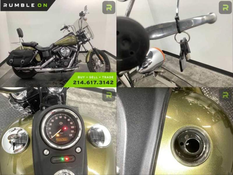 2016 Harley-Davidson Dyna CALL (877) 8-RUMBLE Green for sale craigslist