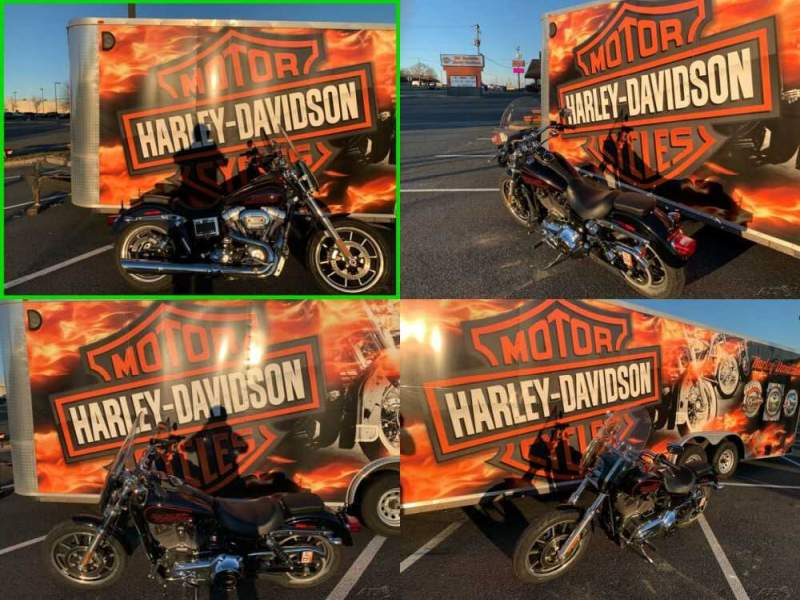 2016 Harley-Davidson Dyna Vivid Black for sale craigslist photo