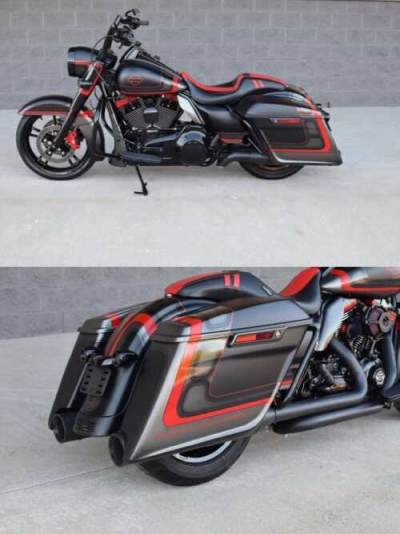 2016 Harley-Davidson FLHR Black for sale craigslist photo