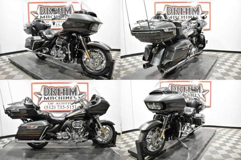 2016 Harley-Davidson FLTRUSE - Screamin Eagle Road Glide Ultra CVO Charcoal Slate And Carbon Dust for sale