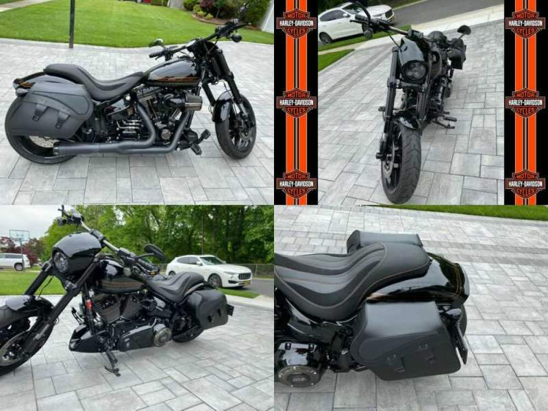 2016 Harley-Davidson Softail Black for sale craigslist photo