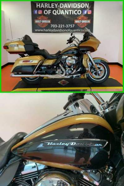 2016 Harley-Davidson Touring Road Glide Ultra Black Quartz/Black Hills Gold for sale craigslist photo