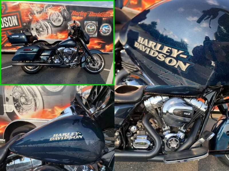 2016 Harley-Davidson Touring Special Cosmic Blue Pearl for sale craigslist