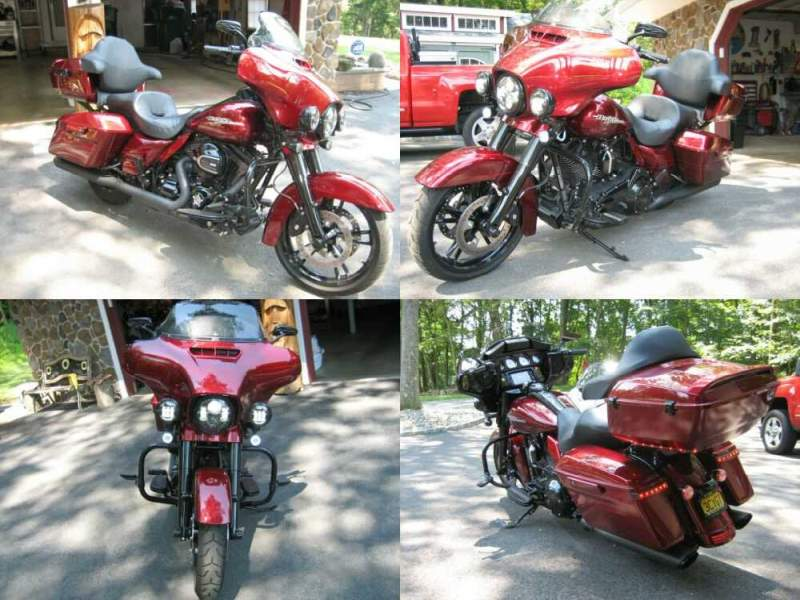 2016 Harley-Davidson Touring Red for sale craigslist photo