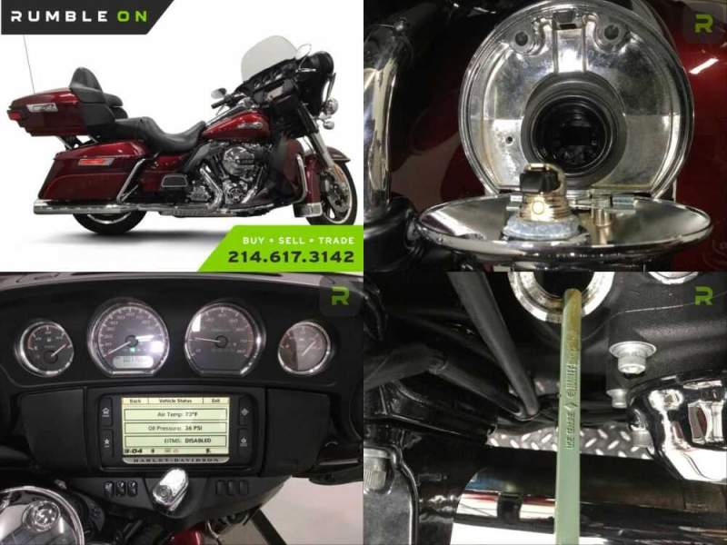 2016 Harley-Davidson Touring CALL (877) 8-RUMBLE Red for sale craigslist