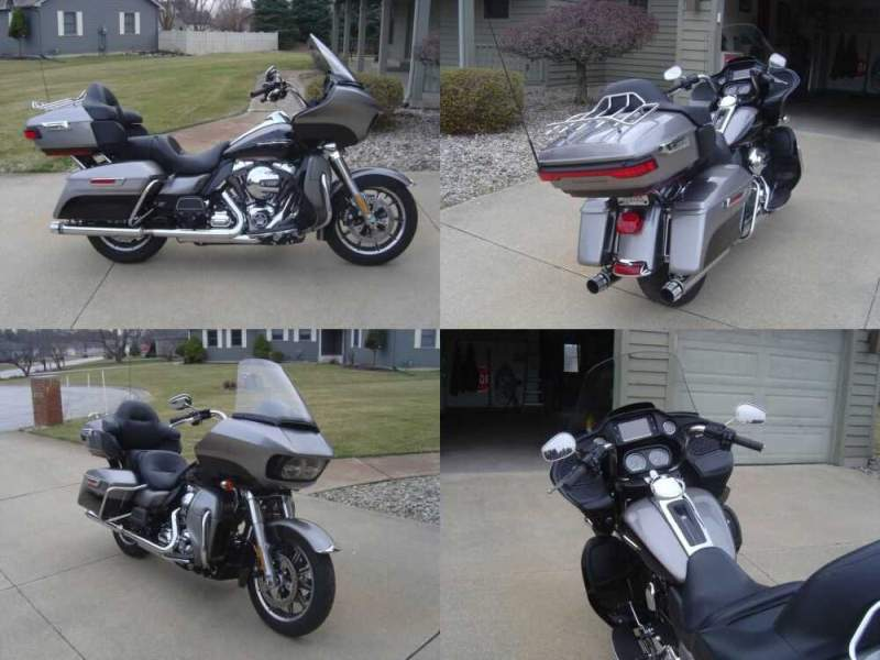 2016 Harley-Davidson Touring Silver for sale craigslist photo