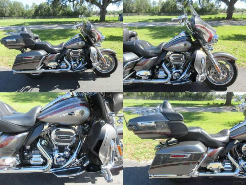 2016 Harley-Davidson Touring Electra Glide® CVO™ Limited Silver for sale craigslist photo