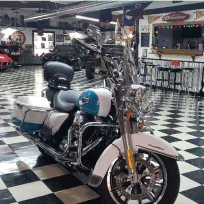 2016 Harley-Davidson Touring Turquoise for sale craigslist photo