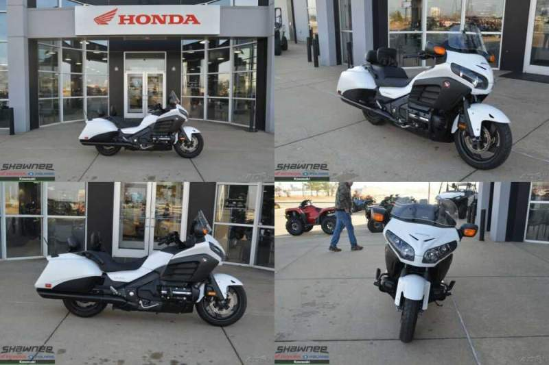 2016 Honda Gold Wing F6B Deluxe White for sale craigslist photo