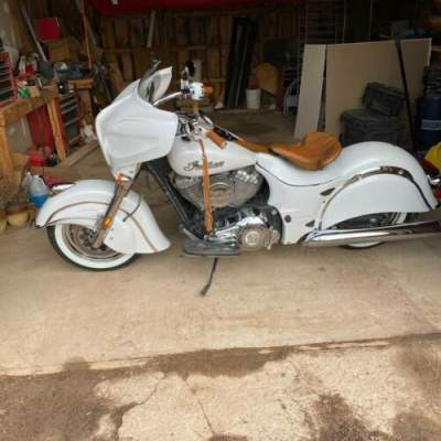 2016 Indian Chief Classic Pearl White for sale
