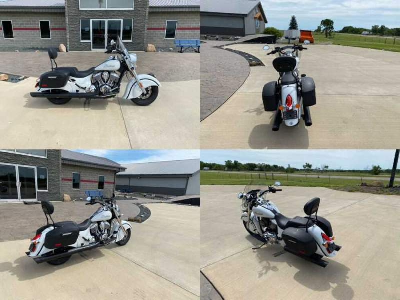 2016 Indian Chief® Classic White for sale craigslist photo