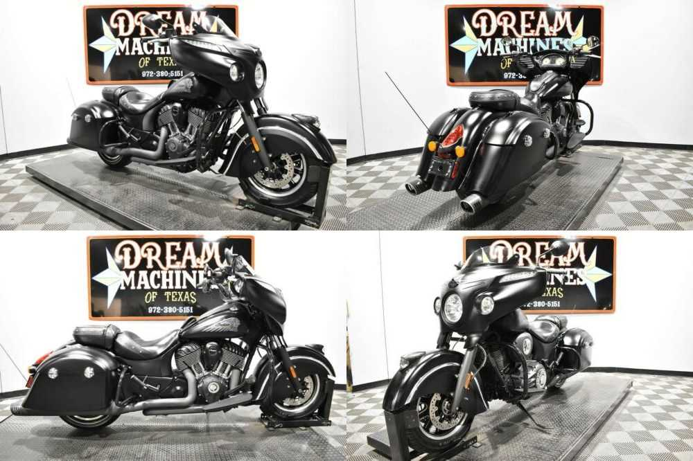 2016 Indian Chieftain Dark Horse Black for sale craigslist photo