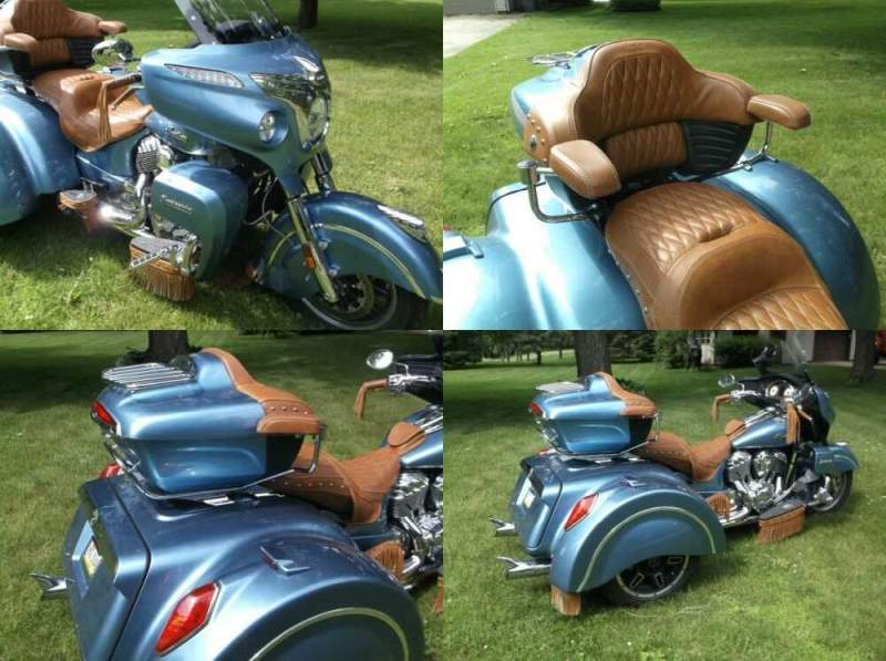 2016 Indian Roadmaster Blue for sale