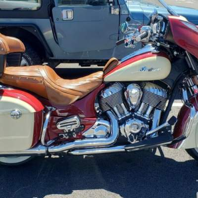 2016 Indian Roadmaster Red for sale craigslist photo