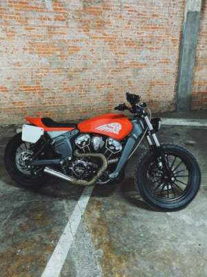 2016 Indian Scout RSD Custom Flat Tracker Red for sale craigslist