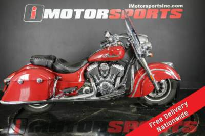 2016 Indian Springfield Indian Motorcycle Red Red for sale