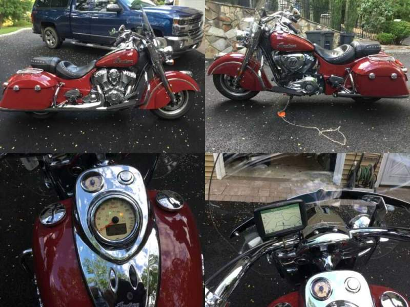 2016 Indian Springfield Red for sale craigslist photo