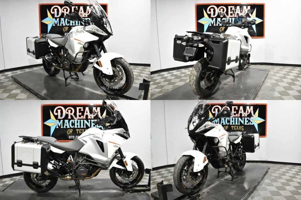 2016 KTM 1290 Super Adventure White for sale