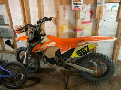 2016 KTM 300 Orange for sale craigslist photo