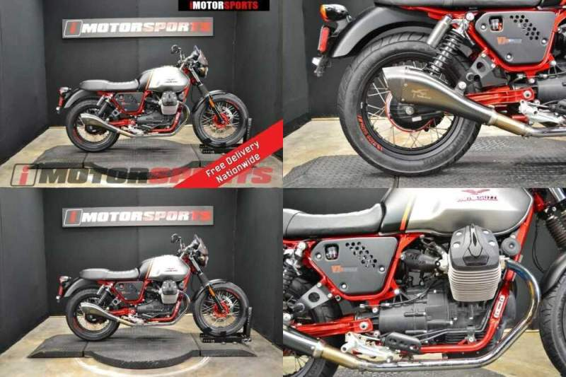 2016 Moto Guzzi V7 II Racer ABS BLK / GRY for sale craigslist photo