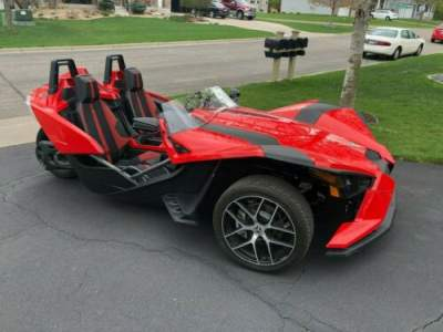2016 Polaris SLINGSHOT SL RED for sale craigslist photo