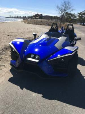 2016 Polaris Slingshot Blue for sale craigslist photo