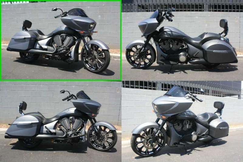 2016 Victory Magnum X-1 Stealth Edition GREY for sale