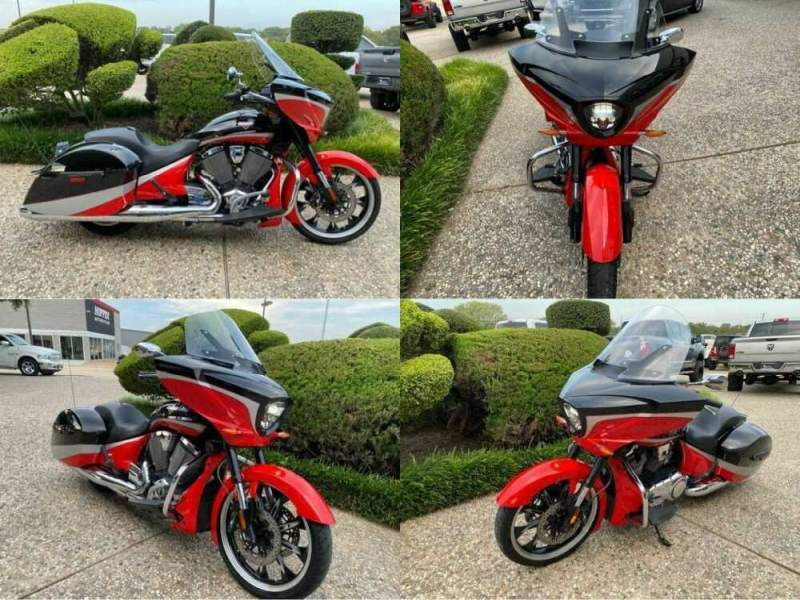 2016 Victory Magnum Red for sale craigslist photo