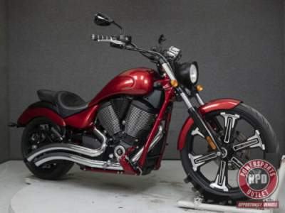 2016 Victory Vegas Red for sale craigslist photo
