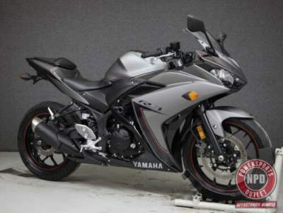 2016 Yamaha YZF R3 300 GREY/BLACK for sale craigslist photo