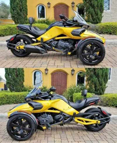 2017 Can-Am SPYDER F3-S DAYTONA Yellow for sale craigslist photo