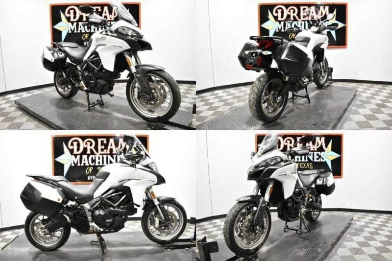 2017 Ducati Multistrada 950 White for sale craigslist photo