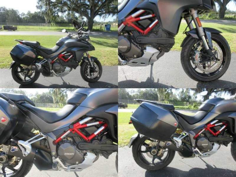 2017 Ducati Sport Touring 1200 S Black for sale craigslist photo