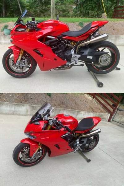 2017 Ducati Supersport Red for sale