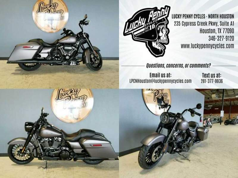 2017 Harley-Davidson Road King Special FLHRXS Gray for sale